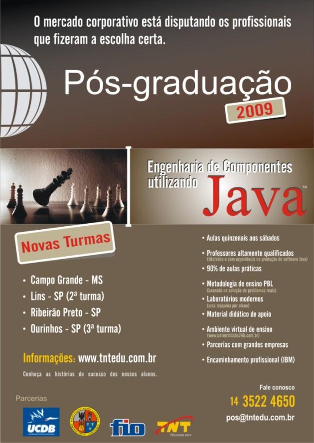 Engenharia de Componentes utilizando Java