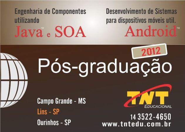 Pos-graduação 2012 java na TNT