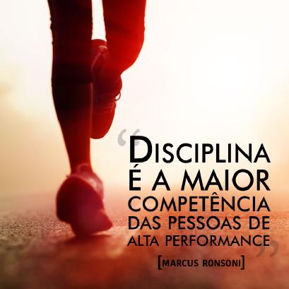disciplina é a maior